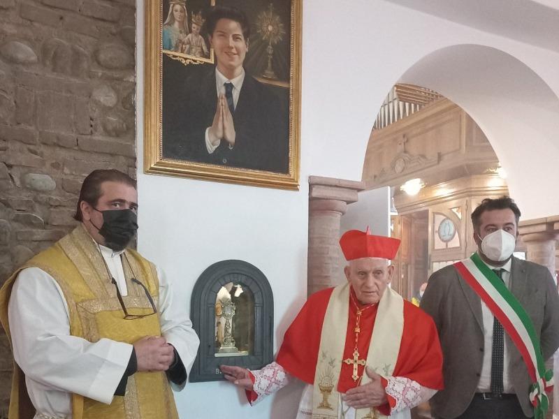 Beato Carlo Acutis, festeggiamenti speciali a Montespertoli con il cardinale Simoni
